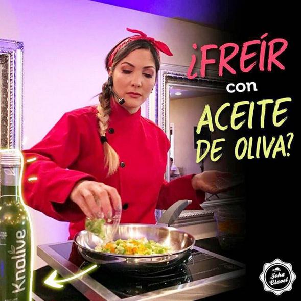 freir con aceite de oliva