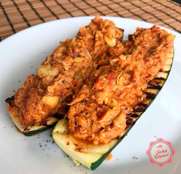 calabacin con pollo