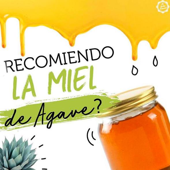 saludable la miel de agave