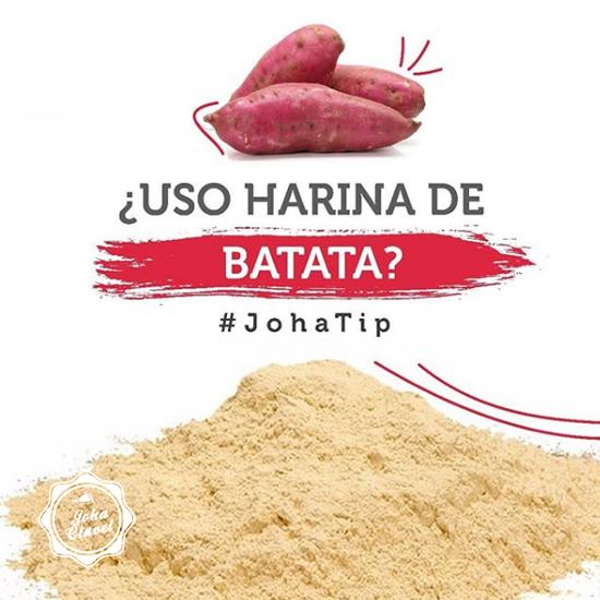 como hacer harina de batata