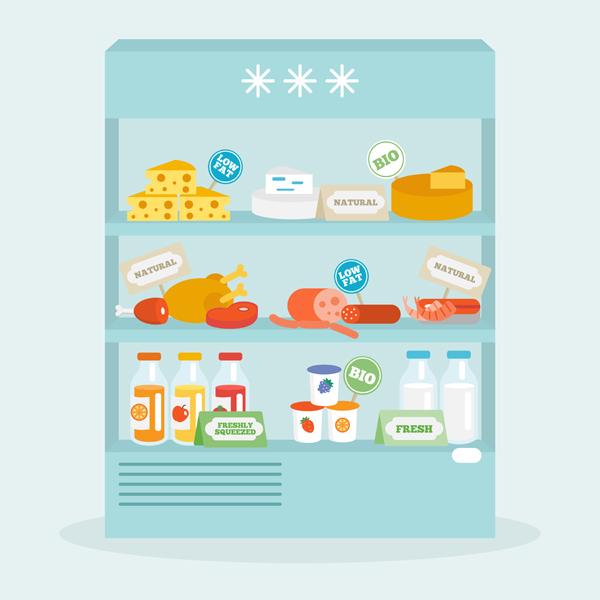 como guardar los alimentos en el refrigerador