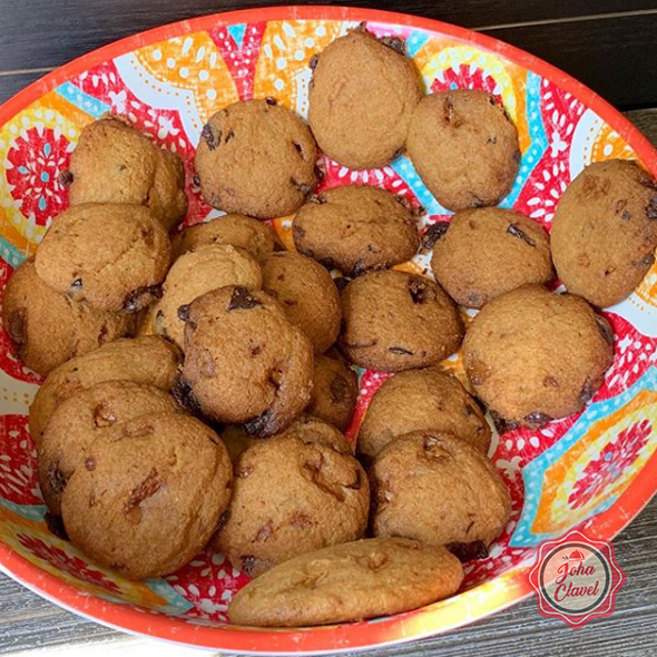 galletas con chispas